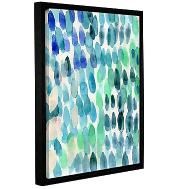 Varick Gallery Waterfall I Framed Print of Painting; 32'' H x 24'' W x 2'' D