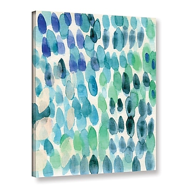 Varick Gallery Waterfall I Print of Painting on Wrapped Canvas; 18'' H x 14'' W x 2'' D
