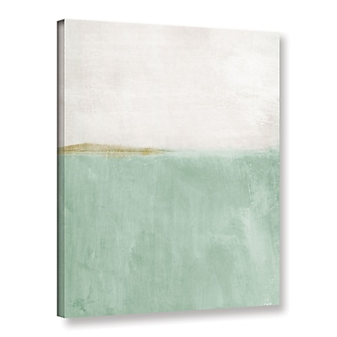Varick Gallery Upon Our Sights II Print of Painting on Wrapped Canvas; 10'' H x 8'' W x 2'' D