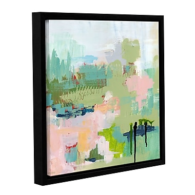 Varick Gallery Anticipation Abstract Framed Painting Print; 10'' H x 10'' W x 2'' D