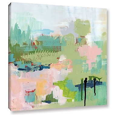 Varick Gallery Anticipation Abstract Painting Print on Wrapped Canvas; 36'' H x 36'' W x 2'' D