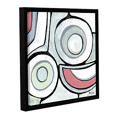 Varick Gallery Abstract I Framed Painting Print; 18'' H x 18'' W x 2'' D