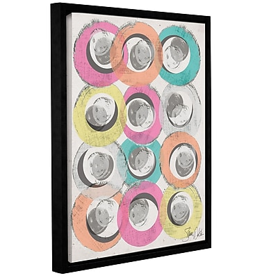 Varick Gallery Circle Abstract I Framed Graphic Art; 32'' H x 24'' W x 2'' D