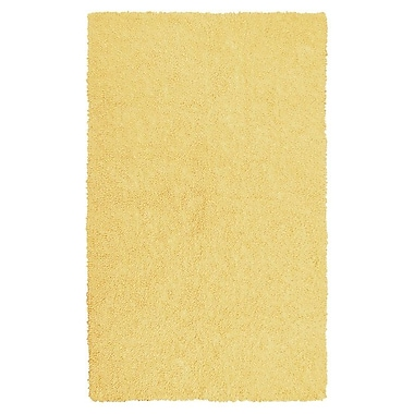 Varick Gallery Bouvier Canary Yellow Area Rug; 7'6'' x 9'6''