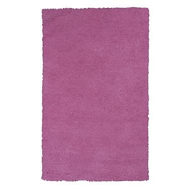 Varick Gallery Bouvier Hot Pink Area Rug; 8' x 11'