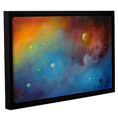 Varick Gallery Spaced Out Framed Painting Print; 8'' H x 12'' W x 2'' D