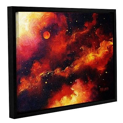 Varick Gallery Fire Storm Framed Painting Print; 14'' H x 18'' W x 2'' D
