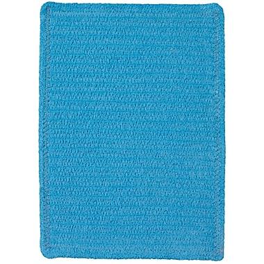 Varick Gallery Yonkers Blue Solid Rug; 3' x 5'