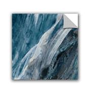 Varick Gallery Splash Indigo Removable Wall Decal; 14'' H x 14'' W x 0.1'' D