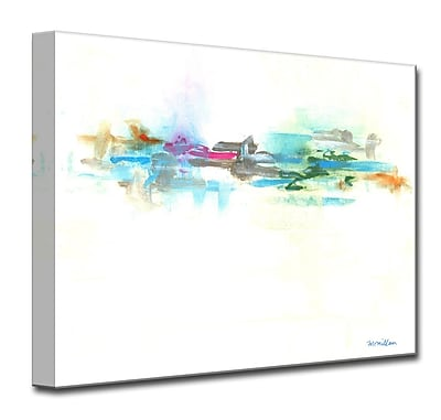 Varick Gallery Color Fusion Painting Print on Wrapped Canvas; 16'' H x 20'' W x 1.5'' D