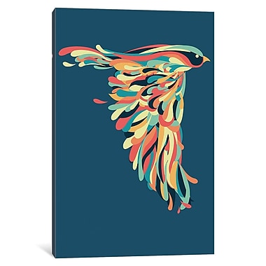 Varick Gallery Downstroke Graphic Art on Wrapped Canvas; 26'' H x 18'' W x 1.5'' D
