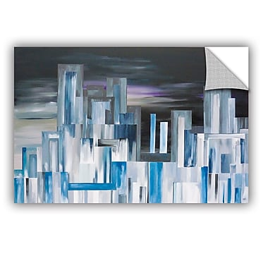 Varick Gallery City Nights 1 Painting Print; 24'' H x 36'' W x 0.1'' D