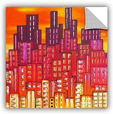Varick Gallery City Lights 11 Painting Print; 36'' H x 36'' W x 0.1'' D