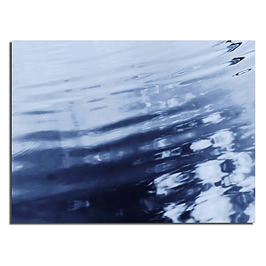 Varick Gallery 'Blue Tranquility II' Photographic Print; 16'' H x 20'' W x 1'' D
