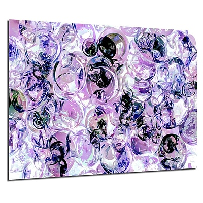 Varick Gallery 'Color Clusters III' Acrylic Painting Print; 20'' H x 30'' W x 1'' D
