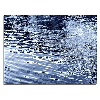 Varick Gallery 'Blue Tranquility VII' Photographic Print; 12'' H x 16'' W x 1'' D