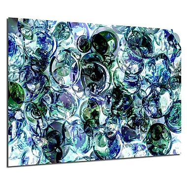 Varick Gallery 'Color Clusters' Acrylic Painting Print; 20'' H x 30'' W x 1'' D