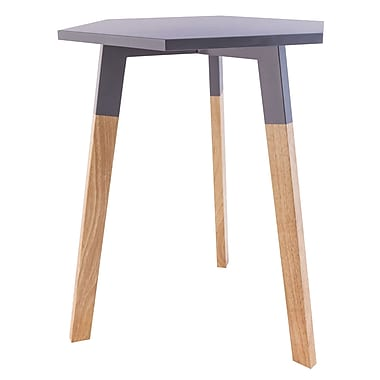 Varick Gallery Callaghan End Table; Cool Gray
