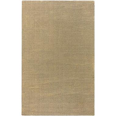 Varick Gallery Villegas Gold Area Rug; 2' x 3'