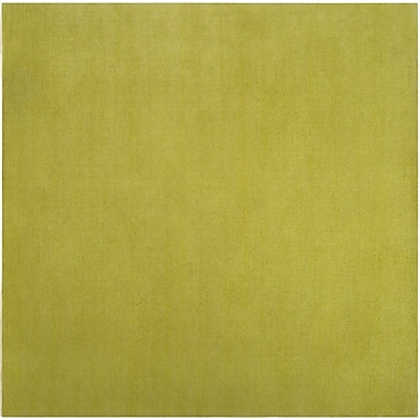 Varick Gallery Villegas Lime Green Area Rug; 8' x 11'