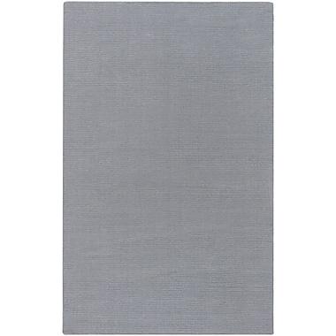 Varick Gallery Villegas Gray Blue Area Rug; 3'3'' x 5'3''