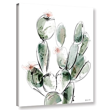 Varick Gallery 'Prickly-Pear' Painting Print on Canvas; 48'' H x 36'' W x 2'' D