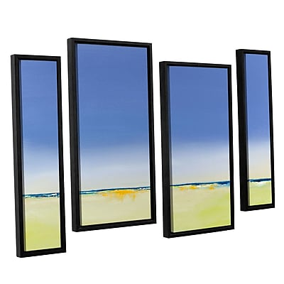 Varick Gallery 'Quiet and Alone' Painting Print Multi-Piece Image on Canvas; 24'' H x 36'' W x 2'' D