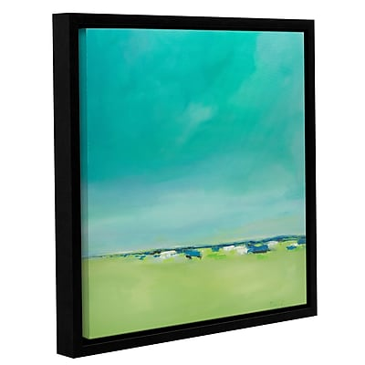 Varick Gallery 'Free and Clear' Framed Painting Print on Canvas; 24'' H x 24'' W x 2'' D