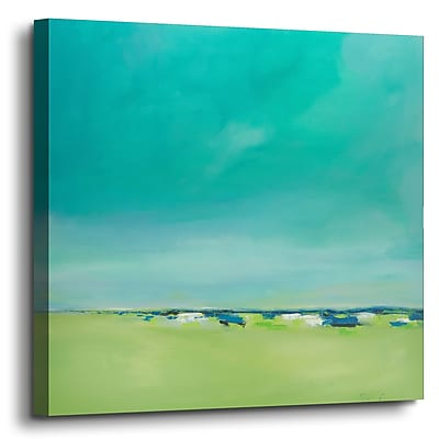 Varick Gallery 'Free and Clear' Painting Print on Canvas; 36'' H x 36'' W x 2'' D