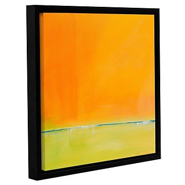 Varick Gallery 'Here and Now' Framed Print on Wrapped Canvas; 14'' H x 14'' W x 2'' D