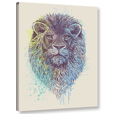 Varick Gallery 'Lion King' Graphic Art Print on Canvas; 18'' H x 14'' W x 2'' D
