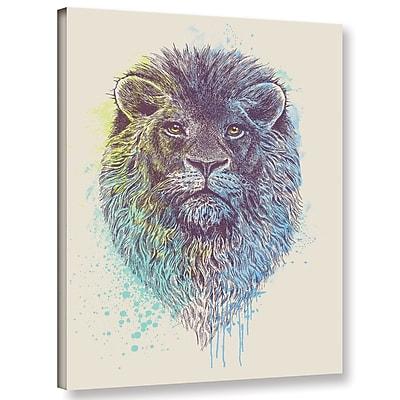 Varick Gallery 'Lion King' Graphic Art Print on Canvas; 24'' H x 18'' W x 2'' D