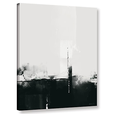 Varick Gallery 'Big Smoke' Graphic Art Print on Canvas; 32'' H x 24'' W x 2'' D