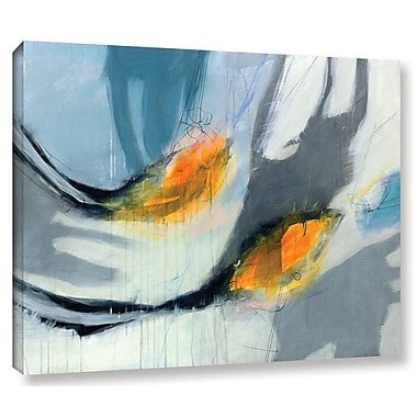 Varick Gallery 'Avalanche' Painting Print on Canvas; 18'' H x 24'' W x 2'' D