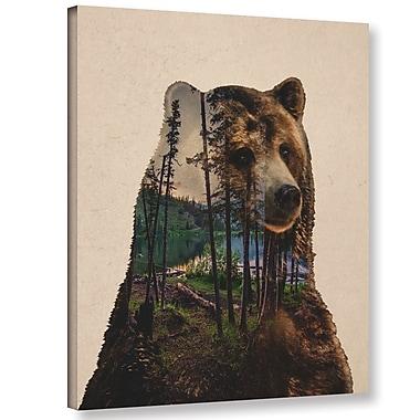 Varick Gallery 'Bear Lake' Graphic Art Print on Canvas; 32'' H x 24'' W x 2'' D
