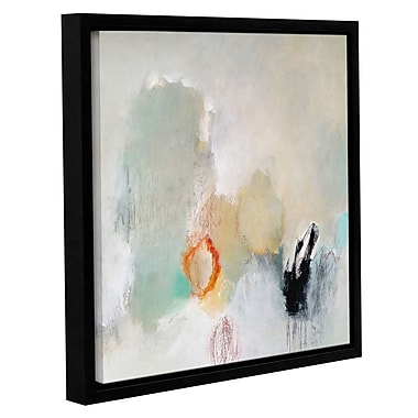 Varick Gallery 'Never Pass Here' Framed Painting Print on Canvas; 24'' H x 24'' W x 2'' D