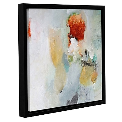 Varick Gallery 'Closer' Framed Painting Print on Canvas; 10'' H x 10'' W x 2'' D