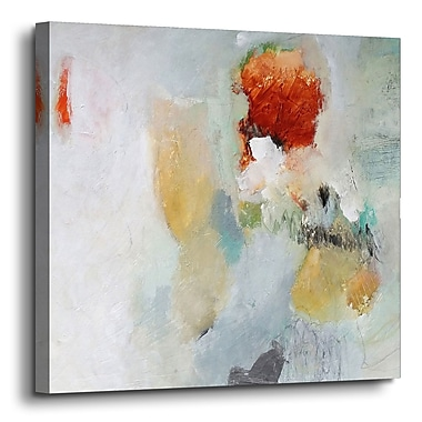 Varick Gallery 'Closer' Painting Print on Canvas; 10'' H x 10'' W x 2'' D