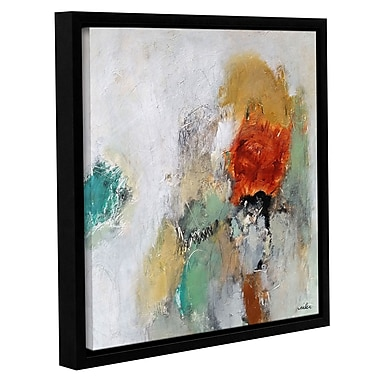 Varick Gallery 'Beyond the Seen' Framed Painting Print on Canvas; 18'' H x 18'' W x 2'' D