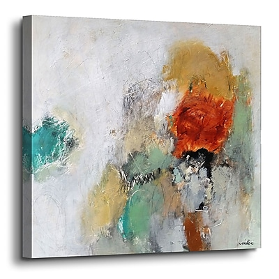 Varick Gallery 'Beyond the Seen' Painting Print on Canvas; 36'' H x 36'' W x 2'' D