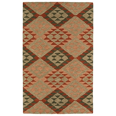 Varick Gallery Hinton Charterhouse Hand-Tufted Heathered Camel Area Rug; 5' x 7'9''