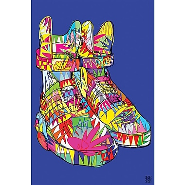 Varick Gallery 'Nike Air Mags (Marty McFly's)' Graphic Art on Wrapped Canvas