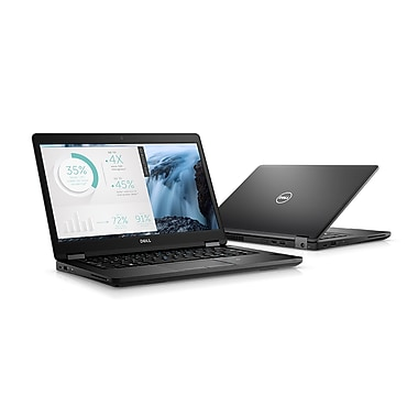 Dell - Portatif Latitude 5480 14 po remis à neuf, 3,1 GHz Intel Core i5-7200U, DD 500 Go, 4 Go DDR4, Windows 10 Pro