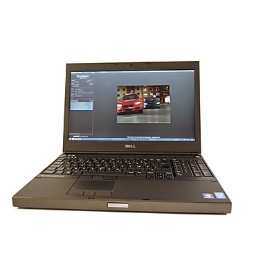 Dell - Portatif Precision M4800 15 po remis à neuf, 2,7 GHz Intel Core i7-4800MQ, SSD 512 Go, 16 Go DDR3, Windows 10 Pro