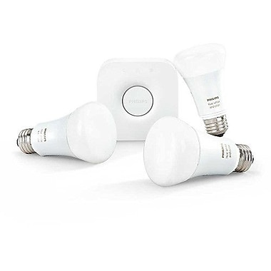 Philips Hue A19 White and Colour Ambiance Starter Kit (464511)