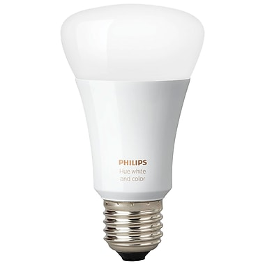 Philips Hue A19 White and Colour Ambiance Wireless Light Bulb (464487)