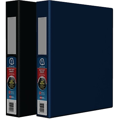 Avery® Heavy-Duty One-Touch D-Ring Binders, 1
