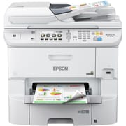 Epson WorkForce Pro WF-6590 Inkjet Multifunction Printer, Color, Plain Paper Print, Desktop (C11CD49201-NA)