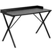 Varick Gallery Castellon Ledge Writing Desk; Black
