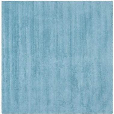 Varick Gallery Bolick Blue Area Rug; Square 4'